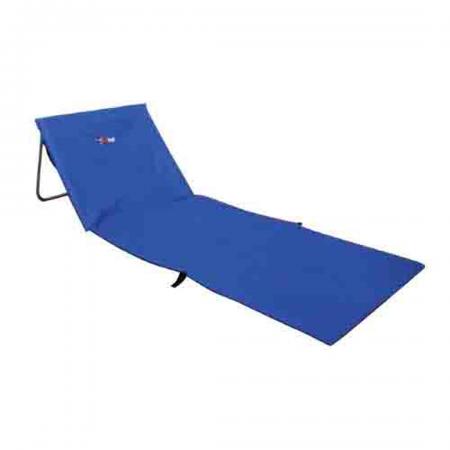 Beach Lounger Folding Padded Mat 120kg