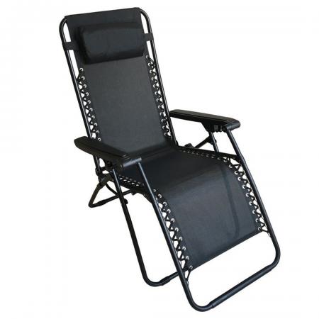 Lounger Textilene Folding Relax Chair 120kgs