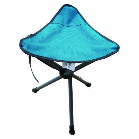Tripod Stool With Carry Bag Ripstop 90kg