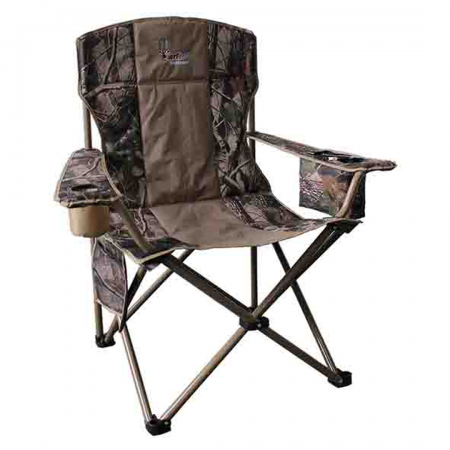 Wildebeest Padded Chair With Cooler Bag 150kg Camo