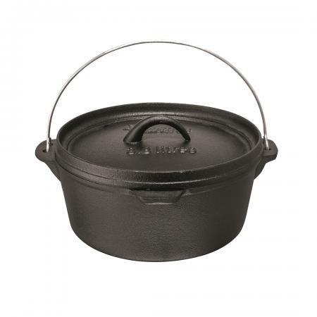 Flat Potjie Pot 3.8L