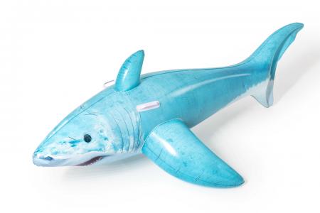Bestway Realistic Shark Ride-On 1.83m x 1.02m