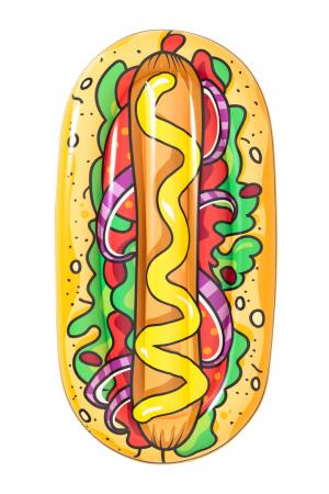 Bestway Hot Dog Pool Lounge 1.90m x 1.09m