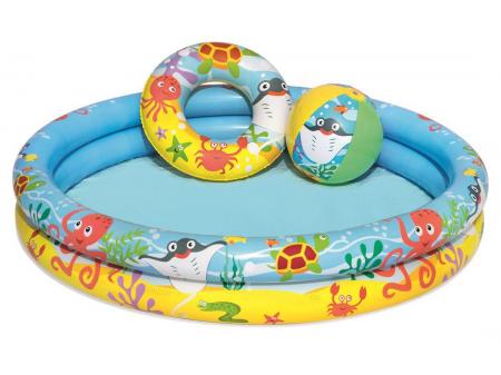 Play Pool Set 1.22m x H20cm 124L