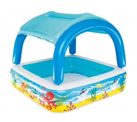 Canopy Play Pool 265L 1.40m x 1.40m x 1.14m