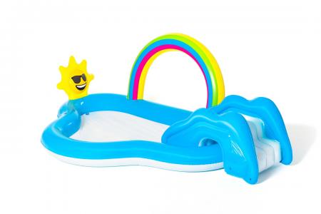 Rainbow N' Shine Pool And Play Center 170L 2.57m x 1.45m x 91cm