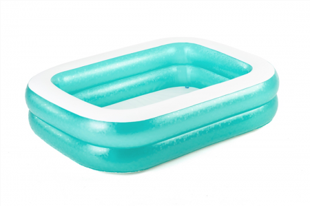 Rectangular Family Pool 450L 201cm x 150cm x 51cm Blue