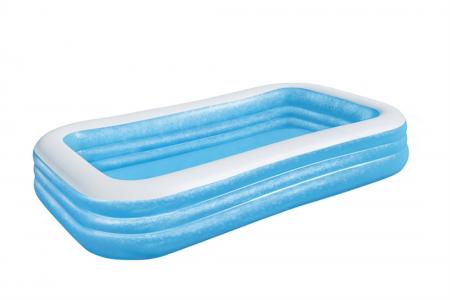 Deluxe Blue Rectangular Family Pool 1.161L 305cm x 183cm x 56cm