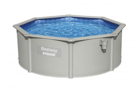 Hydrium Poseidon Pool Set 4.60m x 1.20m 18.430L Model With Sandfilter