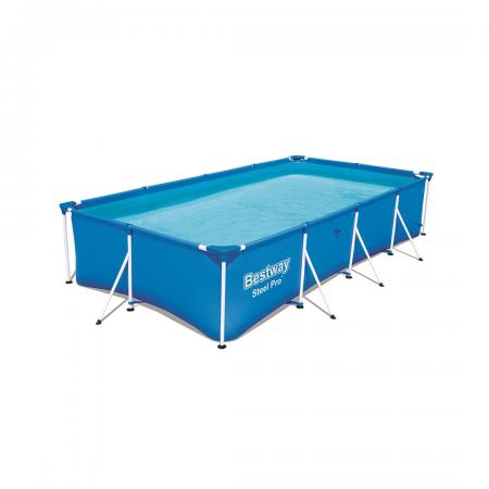 Steel Pro Pool Set 5.700 L (No Pump & Filter) 4.00m x 2.11m x 81cm