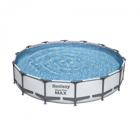 Steel Pro Max Frame Grey Pool Set 10.220L 4.27m x 84cm