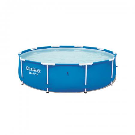 Steel Pro Frame Pool 4.678L No Pump 3.05m x 76cm