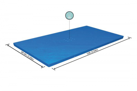 Frame Pool Cover 300cm x 201cm