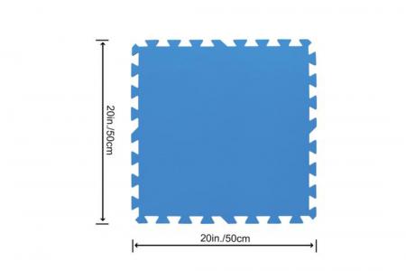 Pool Floor Protector 50 x 50cm (Set Of 9 Mats)