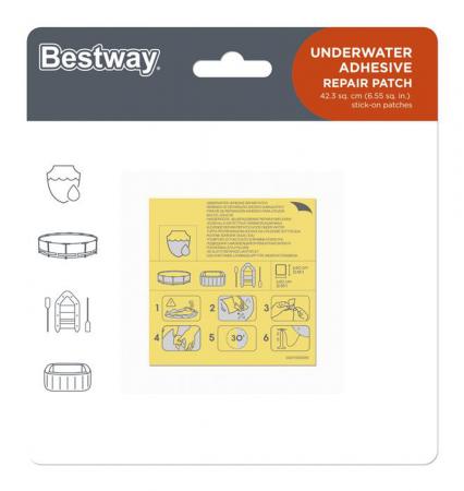 Underwater Adhesive Repair Patch 6.5cm x 6.5cm
