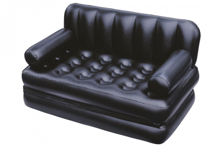 Bestway Double 5-In-1 Multifunctional Couch With Sidewinder Ac Air Pump 1.88m x 1.52m x 64cm