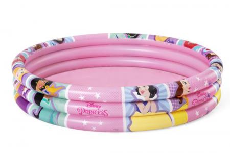 Disney Princess 3 Ring Pool 140L 1.22m x H25cm