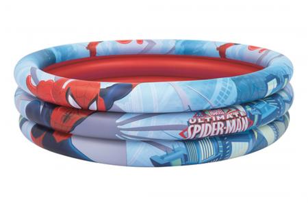 Spiderman 3-Ring Pool 200L 1.22m x H30cm