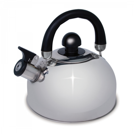 Campfire Whistling Kettle Stainless Steel 2.5L