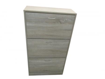 Perugia 3-Drawer Shoe Cabinet
