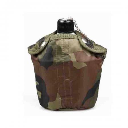 1Qt Army Aluminium Canteen Tactix Camo