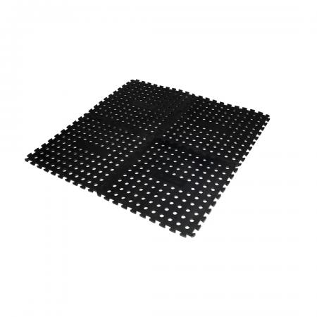 Foam Floor Mat Black (Pack of 4)