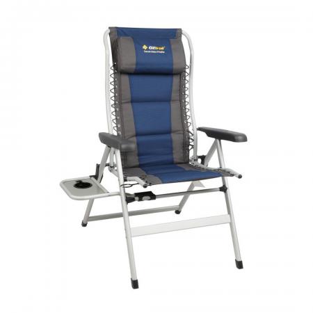 Cascade 8-Position Arm Chair & Sidetable 160kg