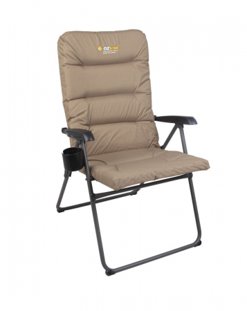 Coolum 5-Position Padded Arm Chair 150kg