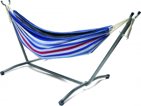 Anywhere Double Hammock with Steel Frame- 200kg