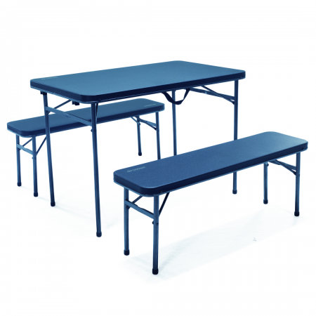 Ironside 3Pc Picnic Set 250kg Per Seat/300kg Table Weight