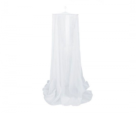 Mosquito Net Queen Bell White