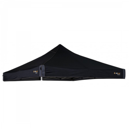 Canopy 3m 300D Polyester To Suit 3m Deluxe Gazebo Black