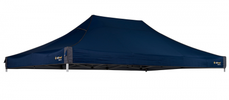 Canopy 4.5m 300D Polyester To Suit Deluxe mega Gazebo Blue