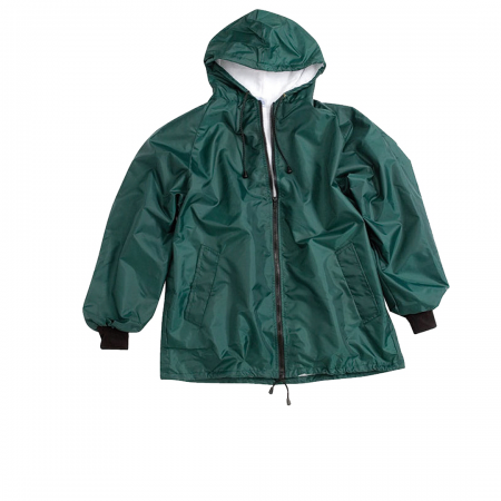 Boys Towelling Jacket/Rib Sleeve