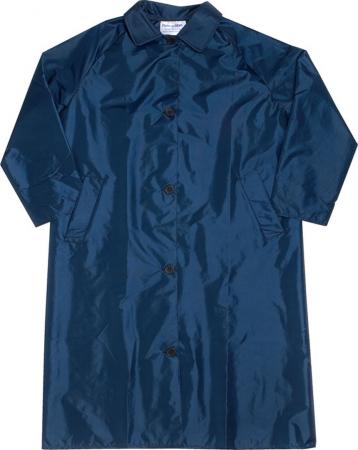 Ladies Nylon Taffeta Raincoat/Collar