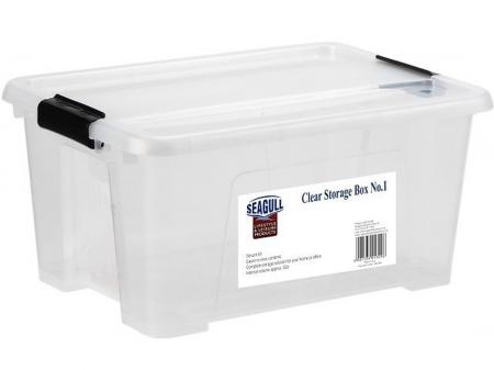 Clear Storage Box 14L