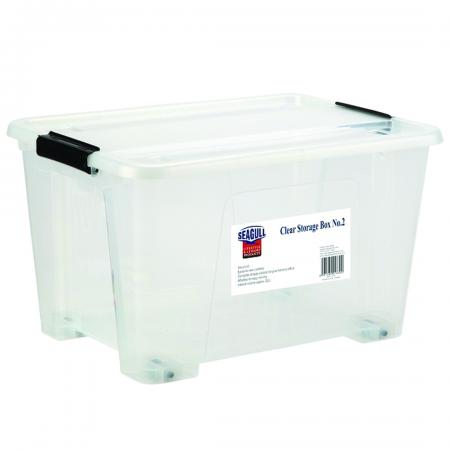Clear Storage Box 29L