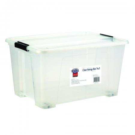 Clear Storage Box 42L