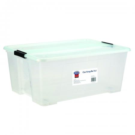 Clear Storage Box 73L