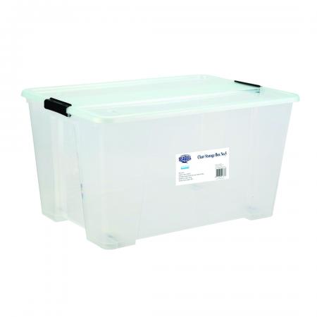 Clear Storage Box 92L