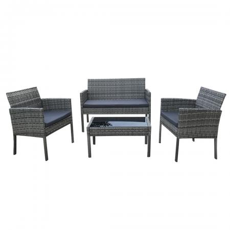 Sofa Set 4-Piece