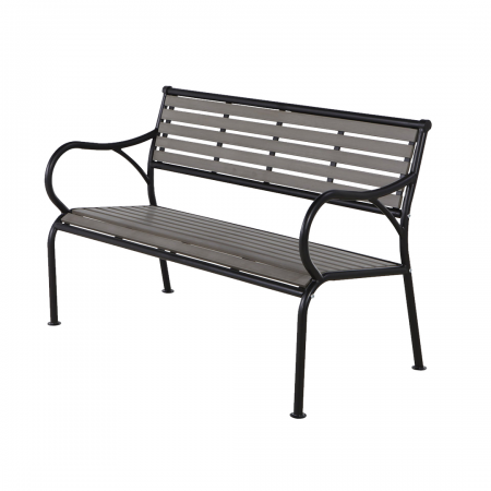 Bench Polywood Grey