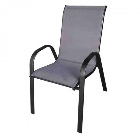 Patio Chair 90cm Graphite/Grey