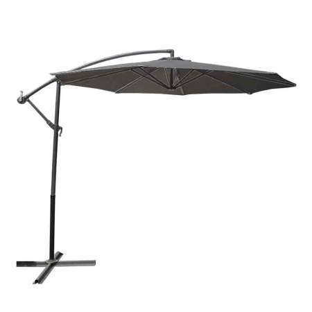 Cantilever Umbrella 3m Light Grey