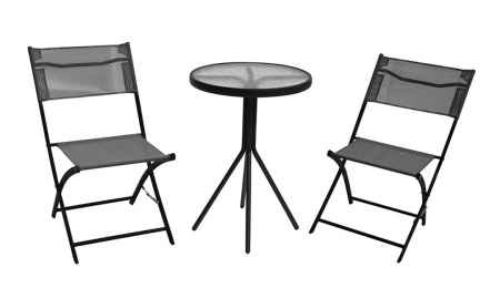 Bistro Table & Chair Set 3-Piece