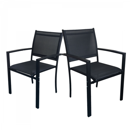 Milano Patio Chair 2-Pack 57 x 57 x 88cm
