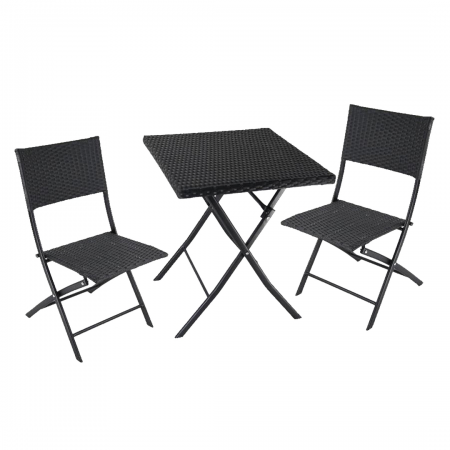 Panama Table & Chair Set 3-Piece