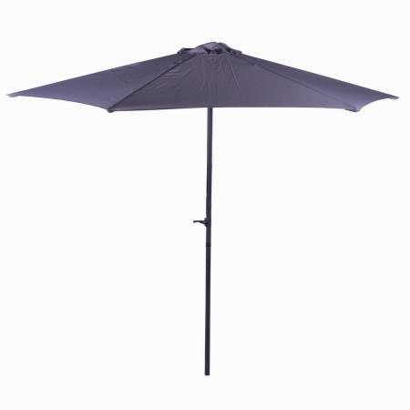 Parasol Umbrella 2.7m Light Grey