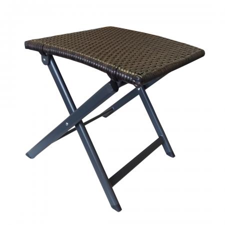 Rattan Stool/Table Size: 42 x 42 x 43Cm
