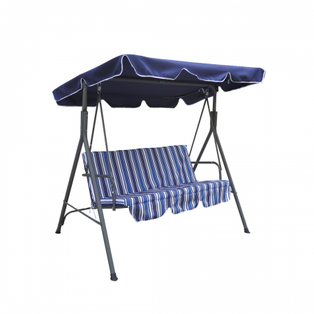 Chill-Out Garden Swing Polyester Blue Stripes